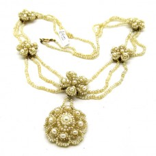 Early Victorian natural Pearl necklace.