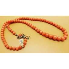 1920's coral necklace (4.5mm - 7.5mm)