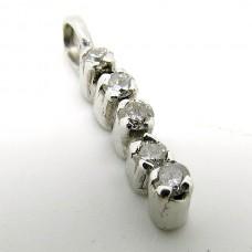 18ct Pendant with Diamonds.