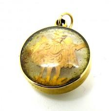 18ct Gold Charm.