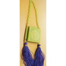 1920's bakelite compact purse