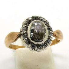 1900's rose diamond Austrian ring.