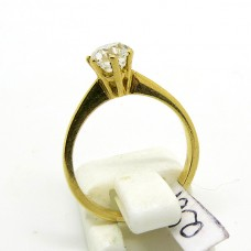 French with old cut Diamond 0.50 ct.