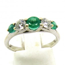 1970's Emerald and Diamond ring.