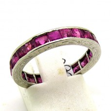 1940's Ruby Eternity ring.