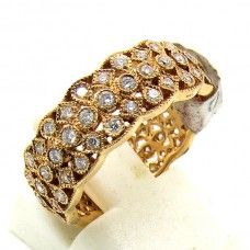 Gold and Diamond eternity ring.