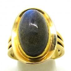 Blue Labradorite ring.