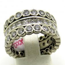 1940's Diamond eternity ring.