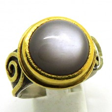 Hand made Moonstone ring.