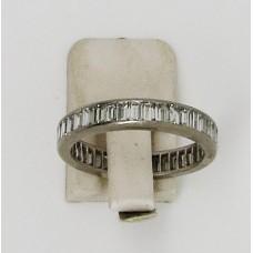 1970's Baguette diamond eternity ring.  Total content 3ct