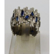 1960'S 18ct Sapphire ring
