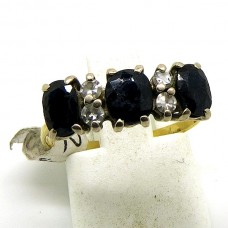 Paste and Sapphire ring