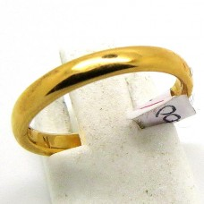 22ct Gold wedding band.