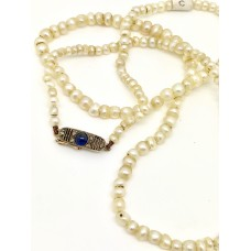 Natural Pearl Edwardian 1900 Antique Necklace